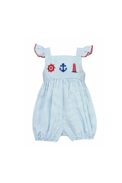 Shoptiques Product: Smocked Nautical Bubble