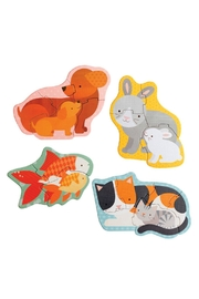 Petit Collage Pets Beginner Puzzle - Front full body