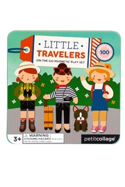 Petit Collage Travelers Magnetic Playset - Front cropped
