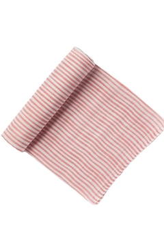 Shoptiques Product: Striped Swaddle Pink