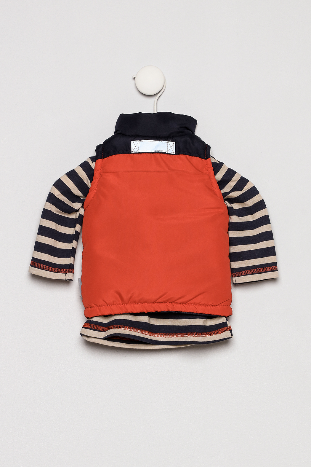 Petite Bears Three Piece Vest Set - Back Cropped Image