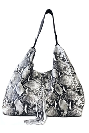 laggo  Petite Bianca Snake Shoulder Bag - Product Mini Image