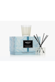 Nest Fragrances PETITE CANDLE & REED DIFFUSER/OCEAN MIST - Product Mini Image