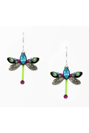Firefly  Petite Dragonfly Earrings - Product Mini Image