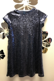 Petite Adele Sequence Dress - Front full body
