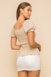 Hem and Thread Petra Smocked Top - Back cropped
