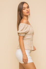 Hem and Thread Petra Smocked Top - Side cropped