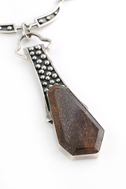 Aurora Joleen Designs Petrified Time Necklace - Front cropped