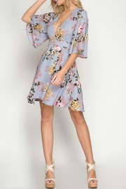 She + Sky Petunia Floral Dress - Product Mini Image