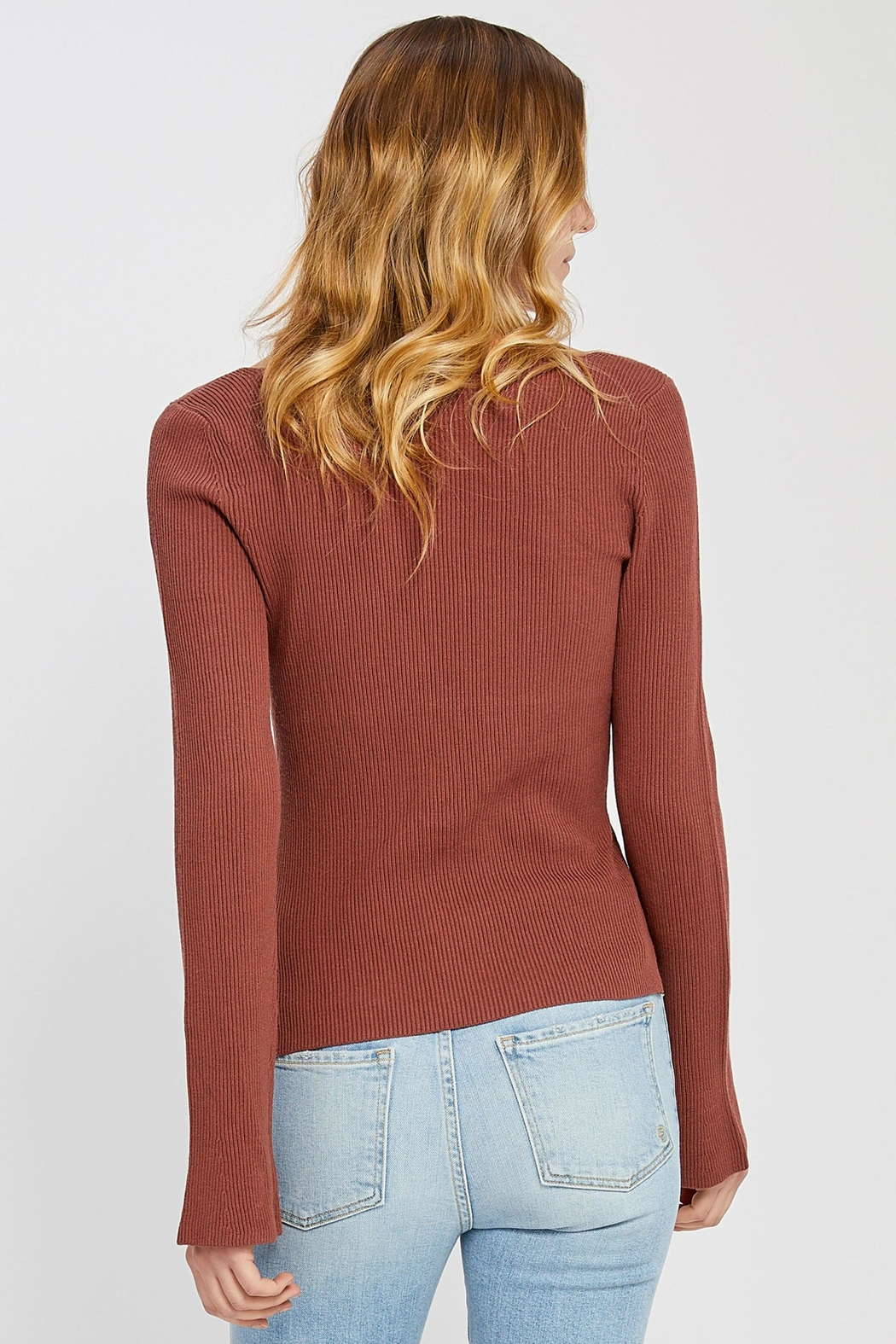Gentle Fawn Petunia Sweater Ginger - Front Full Image