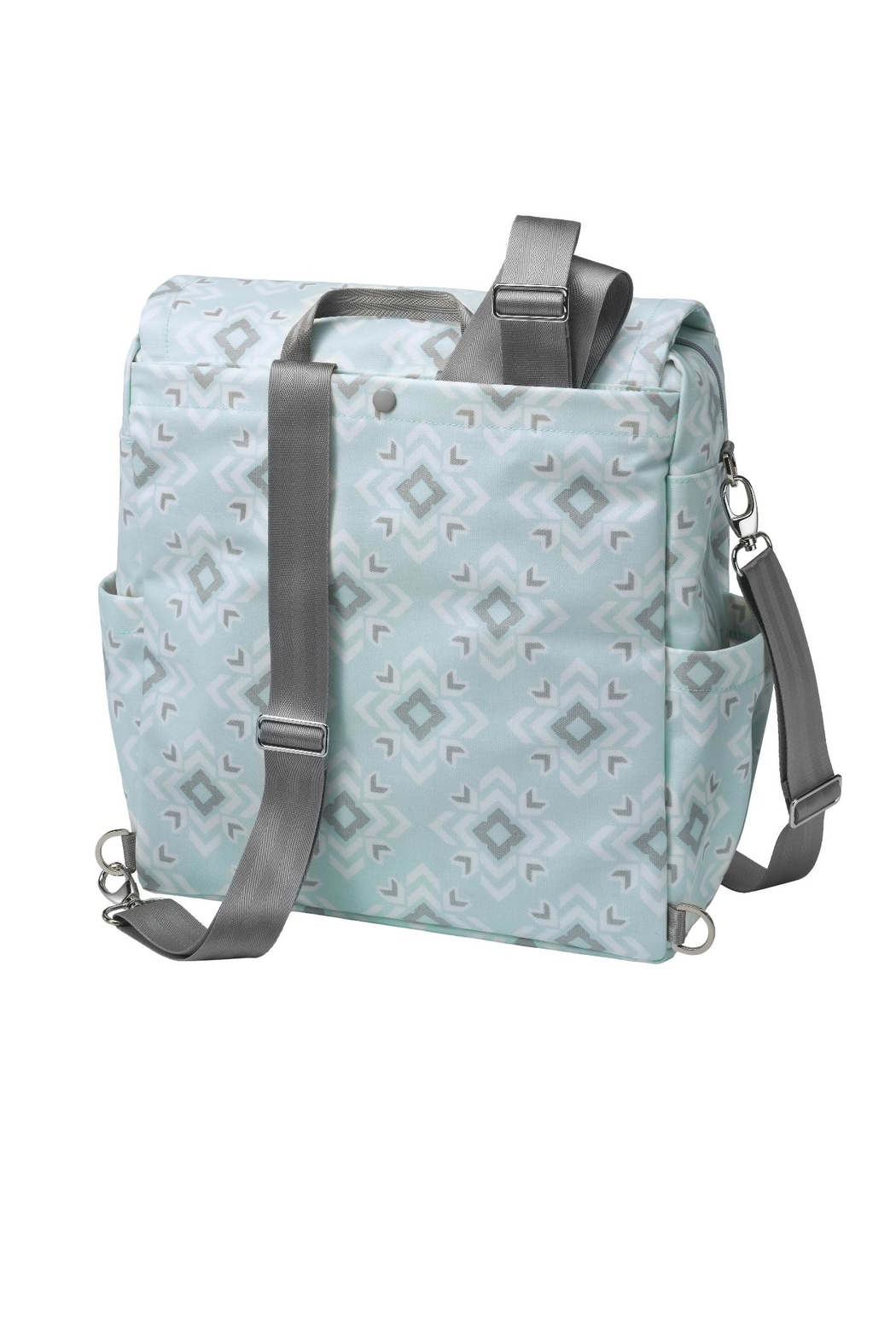 Petunia Pickle Bottom Diaper Bag Backpack - Front Full Image