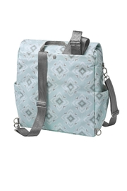 Petunia Pickle Bottom Diaper Bag Backpack - Front full body