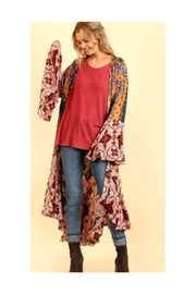 Petunias Boho Berry Duster - Front cropped
