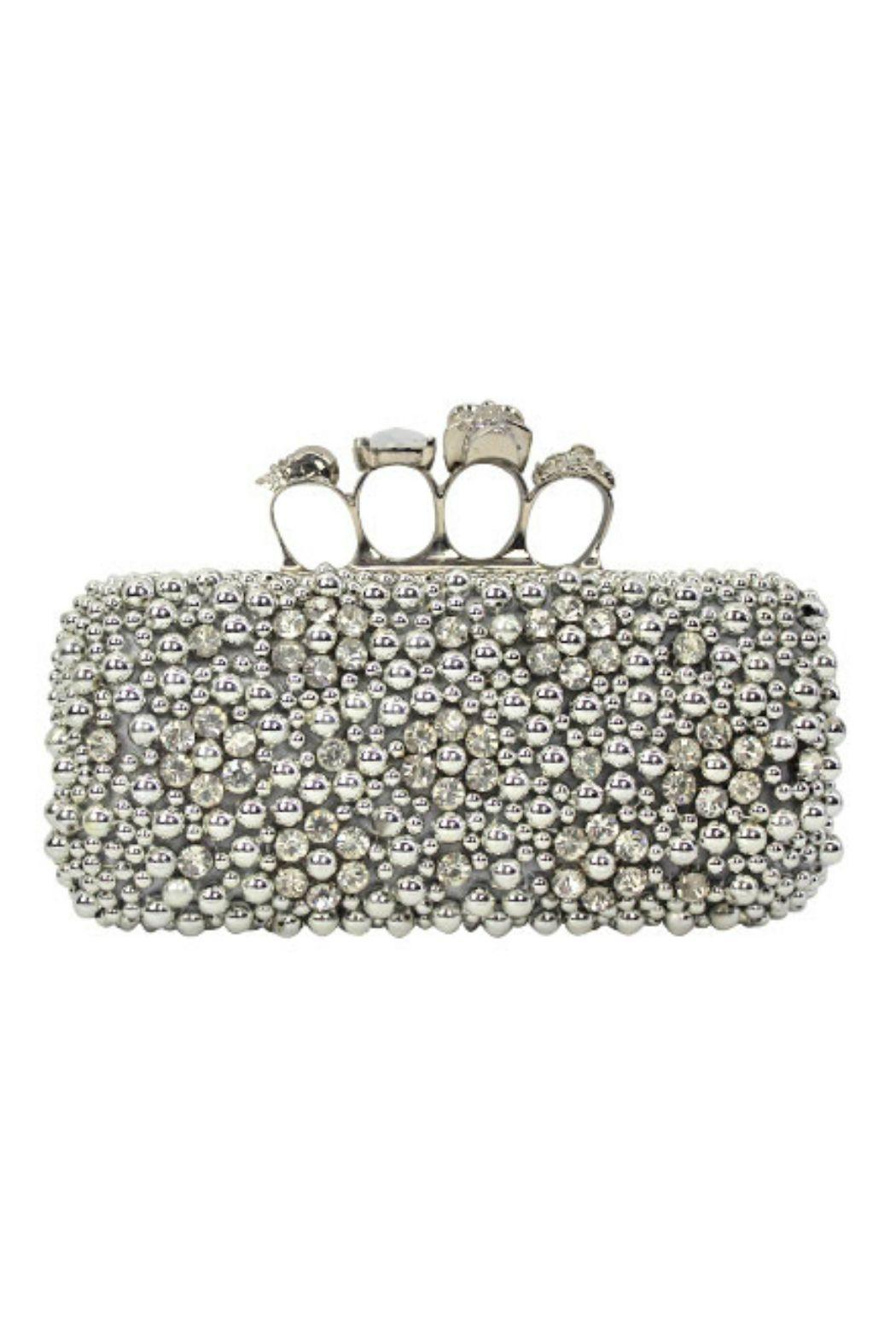 abed4f94798b Petunias of Naples Bling Knuckle Clutch from Naples — Shoptiques