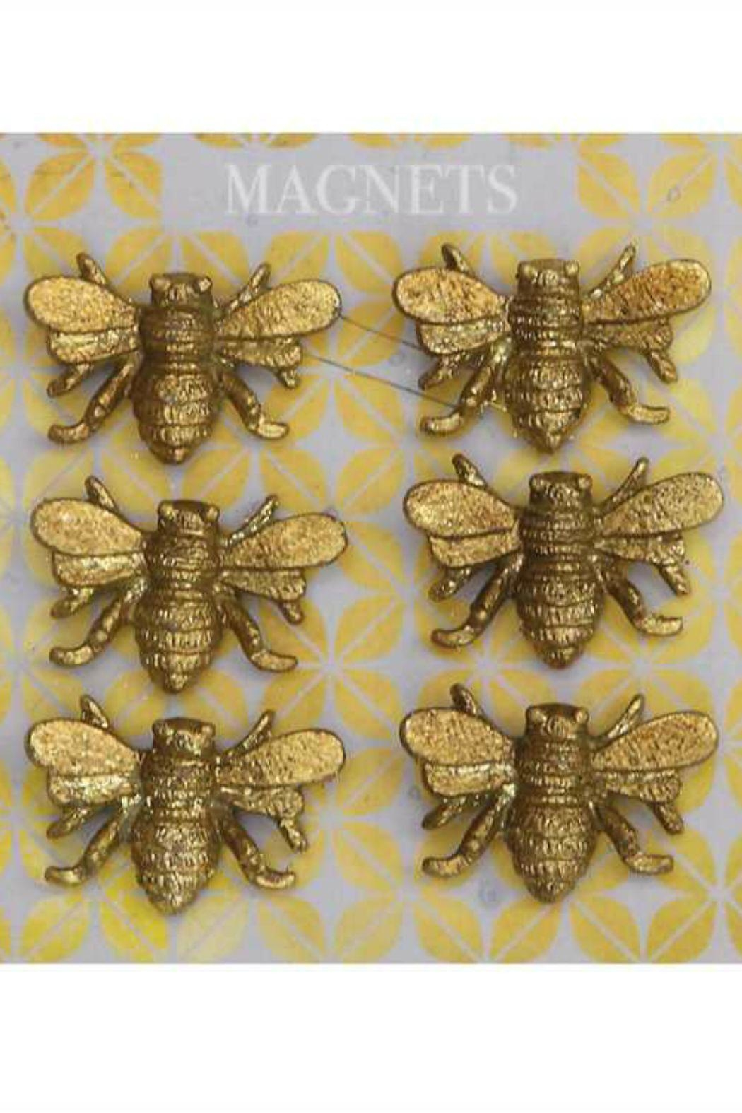 ReCreateU Pewter Bee Magnets - Main Image