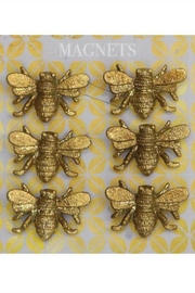 ReCreateU Pewter Bee Magnets - Front cropped
