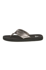 Corky's Shoes Pewter Flip Flop - Product Mini Image