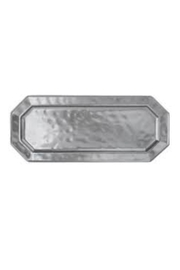 Juliska Pewter Rectangle Platter - Front cropped