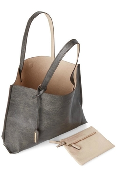 Street Level Pewter Reversible Tote - Alternate List Image
