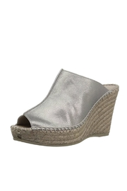 Andre Assous Pewter Suede Wedge - Product Mini Image