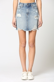 Hidden Jeans Peyton Denim Skirt - Product Mini Image
