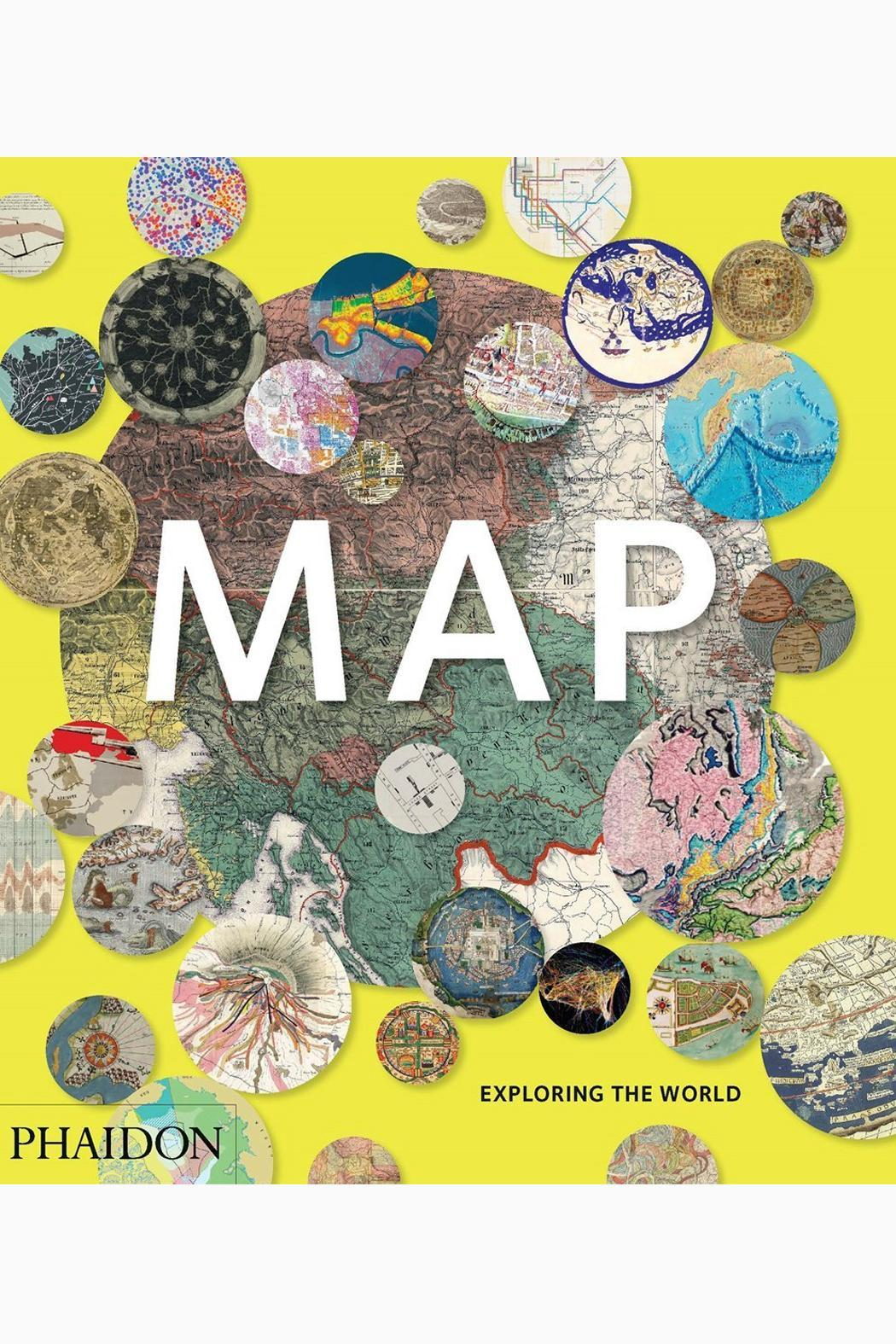 Phaidon Books Map - Front Cropped Image