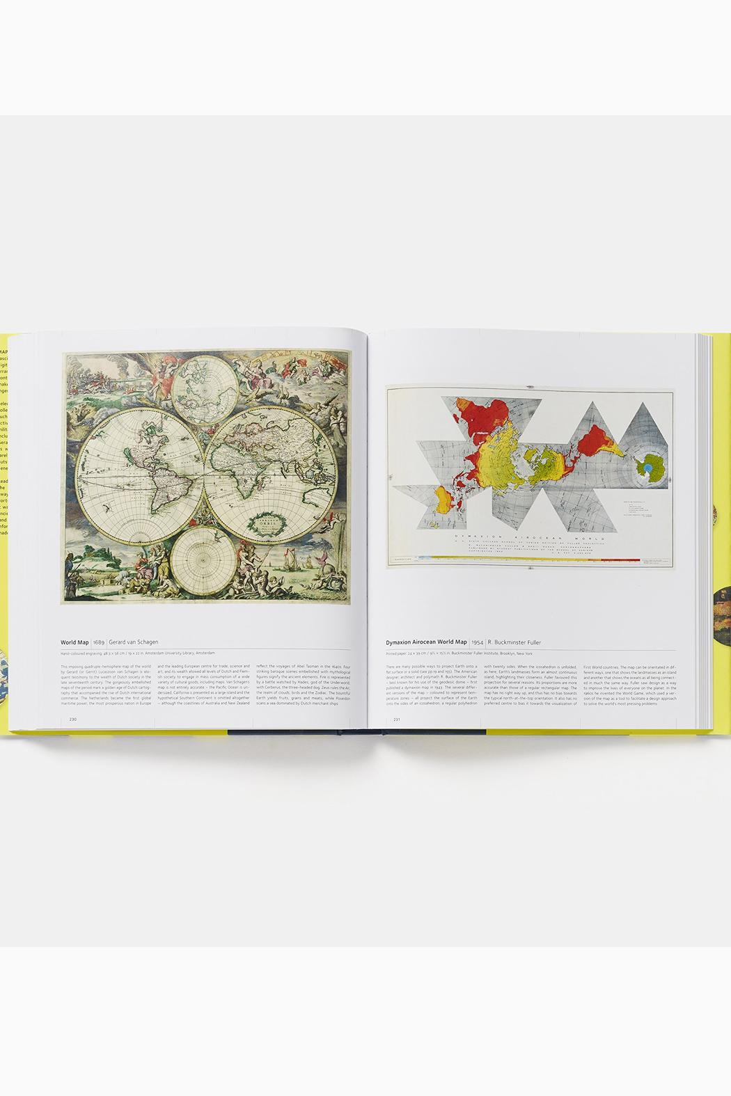 Phaidon Books Map - Front Full Image