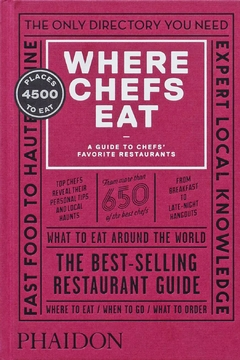 Phaidon Books Where Chefs Eat - Product List Image