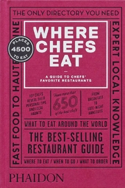 Phaidon Books Where Chefs Eat - Product Mini Image