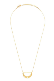 AMANO STUDIO Phases of the Moon Necklace - Front full body