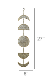 Homart Phases of the Moon Wall Hanging - Front full body