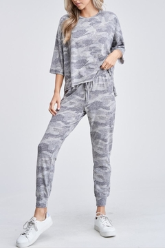 Phil Love Camouflage Print Joggers - Product List Image