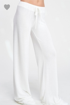 Phil Love Soft White Lounge Pants - Product List Image