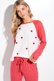 Phil Love Valentine's Day Mini Heart All Over Loungewear Set - Product Mini Image