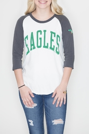 Junk Food Clothing Philadelphia Eagles Raglan - Product Mini Image