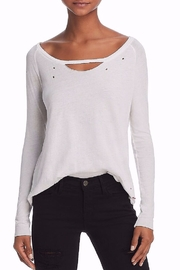 n:PHILANTHROPY Philanthropy Andrea Cutout Long Sleeve Tee - Product Mini Image