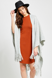 Gentle Fawn Phillipa Fringe Kimono Shawl - Product Mini Image