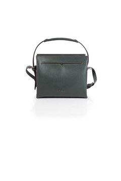 Shoptiques Product: Green Leather Satchel