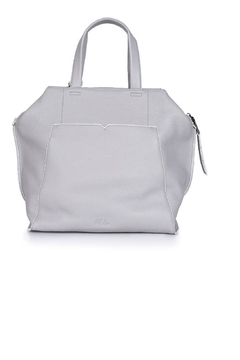 Philo Grey Leather Tote - Product List Image