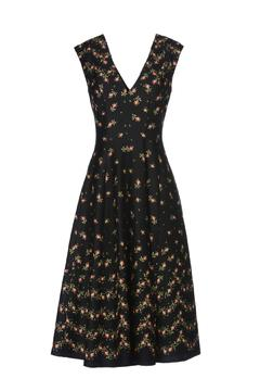 Shoptiques Product: Floral V-Neck Dress