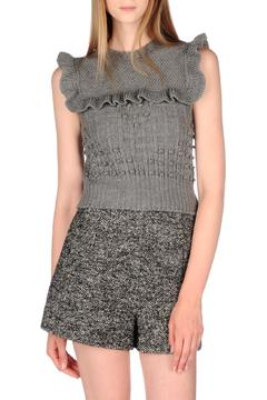 Shoptiques Product: Frilly Wool Gillet