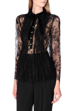 Shoptiques Product: Scalloped Lace Blouse