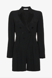 Philosophy di Lorenzo Serafini Black Tuxedo Playsuit - Product Mini Image