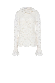 Philosophy di Lorenzo Serafini Gv0218 Lace Blouse - Product Mini Image