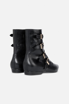 Philosophy di Lorenzo Serafini Leather Ankle Boots - Alternate List Image