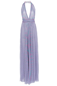 Philosophy di Lorenzo Serafini Pleated Lurex Dress - Product List Image