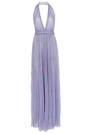 Philosophy di Lorenzo Serafini Pleated Lurex Dress - Product Mini Image