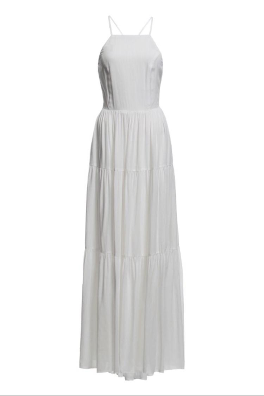 re:named Phoebe Maxi Dress - Front Cropped Image