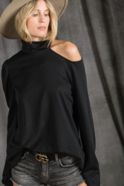 Bibi Phoebe One Cold Shoulder Top - Product Mini Image
