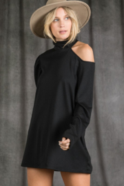 Bibi Phoebe One Cold Shoulder Top - Front full body